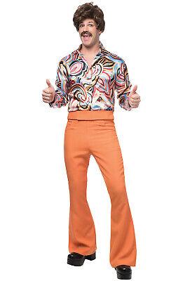 Dude Costume (Brand New 70's Disco Dude Men Adult Costume)