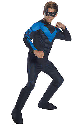 DC Comics Deluxe Nightwing Child Costume](Nightwing Costume For Boy)