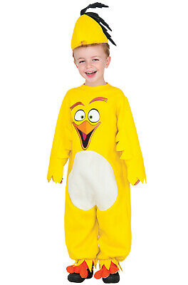 Angry Birds Chuck Toddler Costume - Angry Bird Toddler Costume