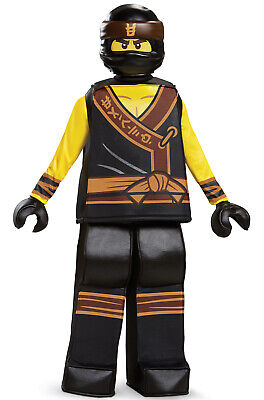 Brand New Ninjago Cole Movie Prestige Child - Cole Ninjago Kostüm