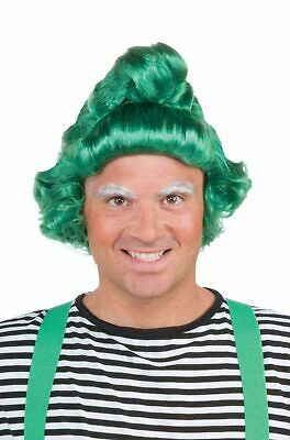 Elf Oompa Loompa Willy Wonka Inspired Adult Wig - Green Oompa Loompa Wig