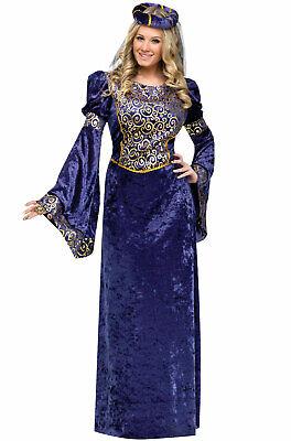 Brand New Royal Renaissance Beauty Maiden Adult (Royal Renaissance Kostüm)