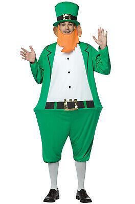 Brand New Leprachaun Hoopster Saint Patrick Day Adult - Saint Patricks Day Kostüm