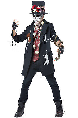 Dude Costume (Brand New Gothic Voodoo Dude Adult)