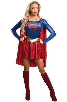 TV Show Supergirl Adult Costume](Tv Show Costume)