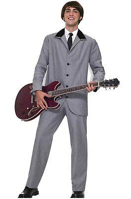 The Fab Four The Beatles British Invasion Adult Costume (L)](Costume British)