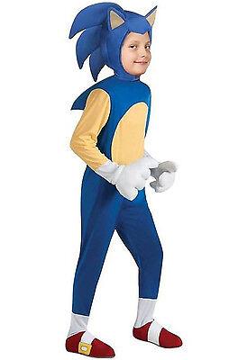 Rubies Deluxe Sonic The Hedgehog Boys Children Halloween Costume - Sonic The Hedgehog Boys Costume