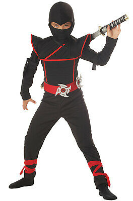 Brand New Japanese Stealth Special Ops Ninja Child Halloween Costume