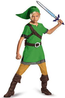 Legend of Zelda Link Classic Child - Legend Of Zelda Link Costume Kids