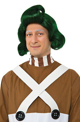 Brand New Charlie And The Chocolate Factory Oompa Loompa Adult Wig
