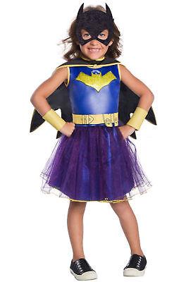 Neu Dc Comics Deluxe Superheld Batgirl Kinder Kostüm - Helden Kostüme Weiblich
