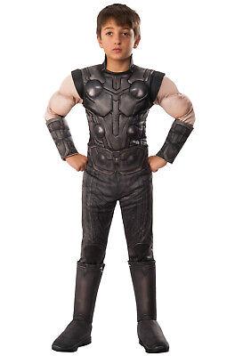 Brand New Avengers Infinity War Deluxe Thor Child Costume](Teen Thor Costume)