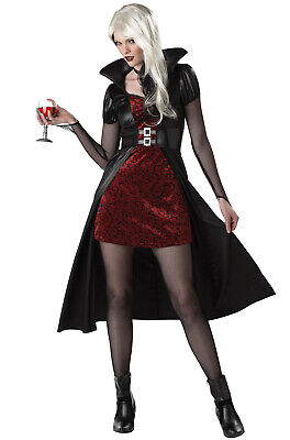 Sexy Gothic Vampire Blood Thirsty Beauty Adult Halloween Costume