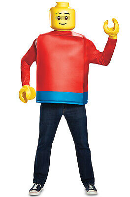 LEGO Guy Classic Adult Costume](Adult Guy Costumes)