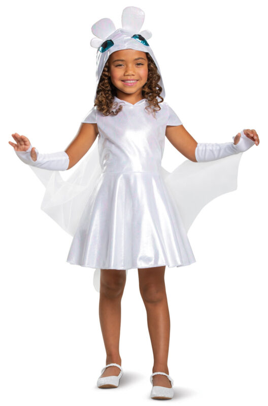 Brand New How to Train Your Dragon Light Fury Classic Child Costume