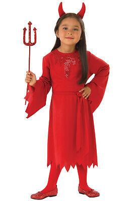 Red Devil Satan Child Costume - Costume Devil