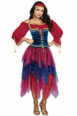 Brand New Gypsy Fortune Teller Dancer Adult - Make Gypsy Costume