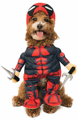 Marvel Deadpool Pet Dog Cat Costume](Deadpool Dog Costume)