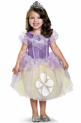Sofia the First Princess Tutu Deluxe Toddler/Child Costume