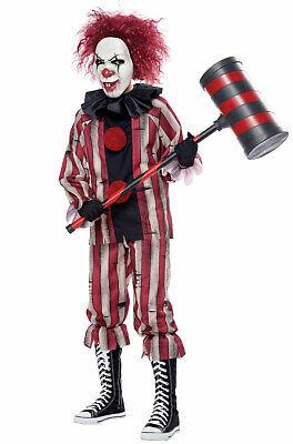 Nightmare Creepy Clown Child Halloween - Child Clown Costumes