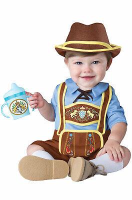 Infant Renaissance Costume (Brand New Little Lederhosen Oktoberfest Renaissance Infant)
