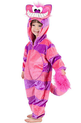 Brand New Cheshire Cat Alice in Wonderland Toddler/Child Costume