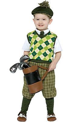 Brand New Adorable Pro Future Golfer Toddler - Golf Pro Kostüm