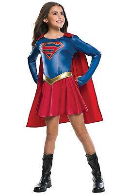 Brand New TV Show Supergirl Child Costume