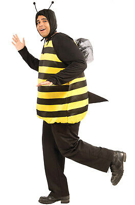 Insect Bumble Bee Adult Costume (XL)