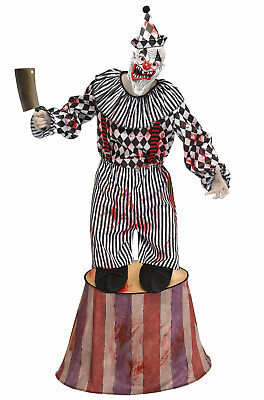 Top Scary Costumes (Big Top Tiny Terror Scary Clown Adult)