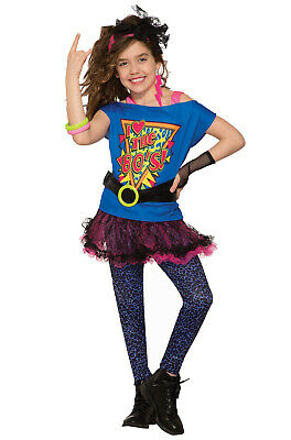 80s Workout Girl Costume (Totally 80's Workout Child Costume)