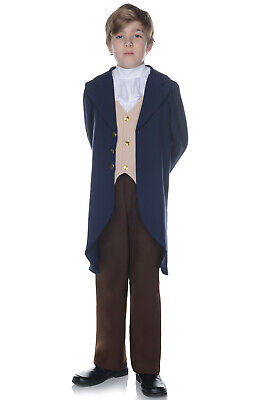 Brand New Thomas Jefferson Historic Child Costume