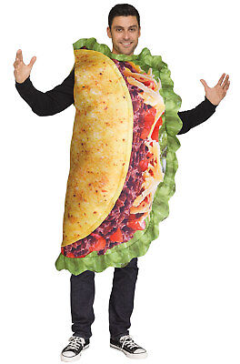 LOL By Fun World Taco - Photo Real Tunic Costume Child or Adult Sizes! - Kids Taco Costume