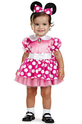 Mickey Mouse Clubhouse Pink Minnie Mouse Toddler Halloween Costume