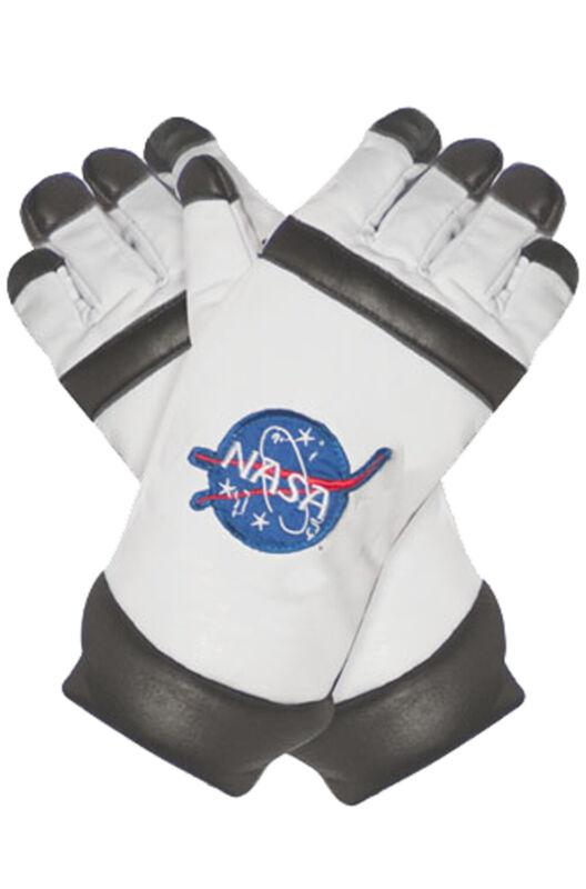 Brand New NASA Inspired Astronaut Adult Gloves (White)