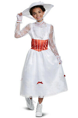 Disney's Mary Poppins - Deluxe Child Costume (Mary Poppins Kids Costume)