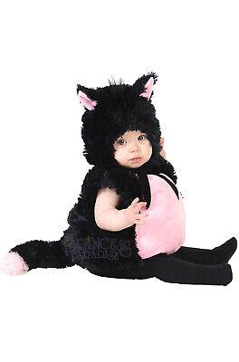Kitty Baby Costume (Little Kitty Cat Plush Bodysuit Animal Infant)