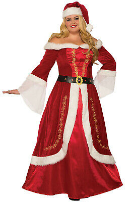 Brand New Premium Mrs. Claus Christmas Adult Plus Size Costume(1XL)](Mrs Claus Costume Plus Size)