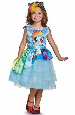 Brand New My Little Pony Rainbow Dash Movie Classic Toddler/Child Costume - My Little Pony Rainbow Dash Costume Child