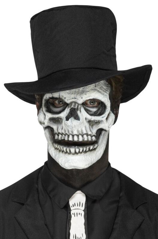 Brand New Skeleton Skull Face Prosthetic Make Up Accessory