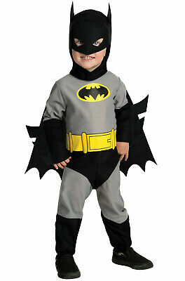 Brand New Superhero Grey Batman Baby Infant/Toddler Costume](Superhero Infant Costume)