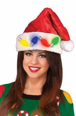Flashing Christmas Hats (Christmas Flashing Santa Hat)