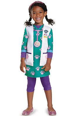 Brand New Doc McStuffins Pet Vet Classic Toddler/Child - Doc Pet Vet Kostüm