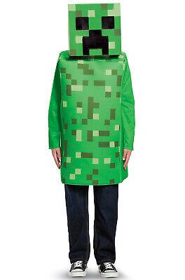 Minecraft Creeper Classic Child Costume - Kids Creeper Costume
