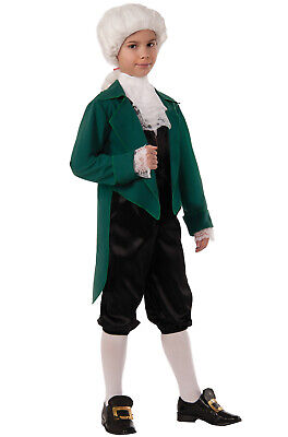 Brand New President Thomas Jefferson Child Costume (M)