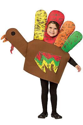 Thanksgiving Hand Turkey Child - Baby Turkey Costume Thanksgiving