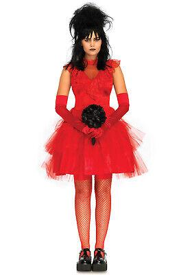 Brand New Beetlejuice Lydia Cosplay Beetle Bride Adult - Lydia Kostüm