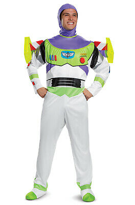 Disney Toy Story Buzz Lightyear Deluxe Adult Costume - Buzz Lightyear Costumes