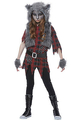 Werewolf Girl - Child Costume (Girl Werewolf Costumes)