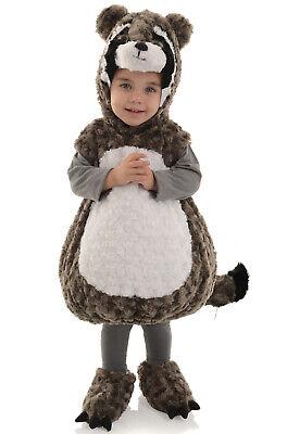 Adorable Raccoon Bodysuit Toddler Costume